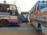 ঢাকা-ময়মনসিংহ মহাসড়কে যানবাহনের ধীরগতি