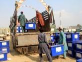 কঠোর নিরাপত্তায় প্রেসিডেন্ট নির্বাচনে ভোট দিচ্ছেন আফগানরা