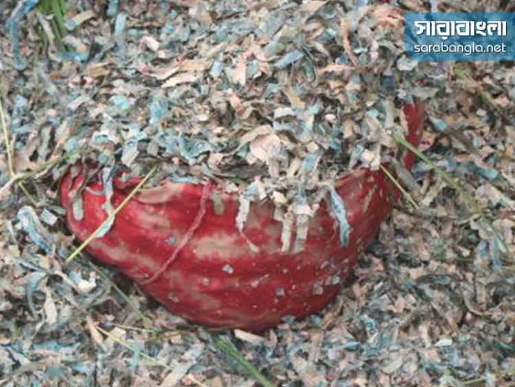 কাটা টাকাগুলো বাংলাদেশ ব্যাংকের: পুলিশ