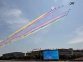 চীনের জাতীয় দিবসে বর্ণাঢ্য সামরিক মহড়ার প্রস্তুতি