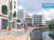 চট্টগ্রামে 'খালখাদক' দুই ভাইকে ৫ লাখ টাকা জরিমানা