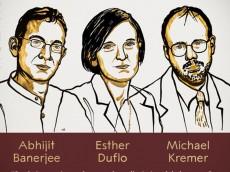 অর্থনীতিতে নোবেল পেলেন বাঙালি অভিজিৎসহ ৩ জন