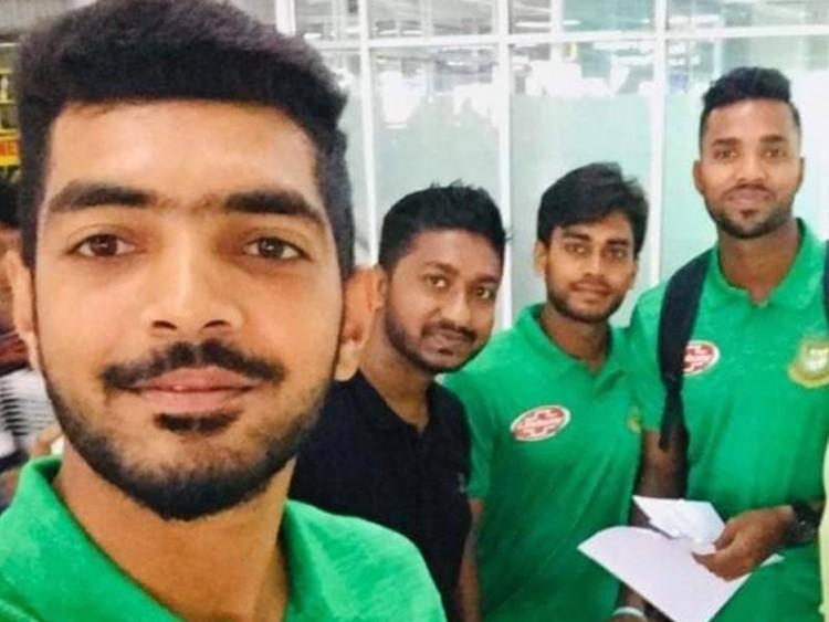 ভারতের উদ্দেশে রওনা বাংলাদেশ টেস্ট দলের