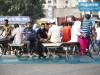 যাত্রাবাড়ী টু গুলিস্তান: ভ্যান-রিকশাই ভরসা