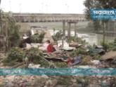 গোমতী নদীর দু'পাড়ের অবৈধ স্থাপনা উচ্ছেদ শুরু