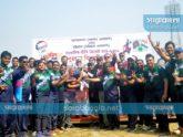 ক্রিকেট খেললেন আগরতলা ও চট্টগ্রামের ক্রীড়া সাংবাদিকরা