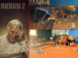 শুটিংয়ে ক্রেন দুর্ঘটনা: কমল হাসানের ১ কোটি রুপি ক্ষতিপূরণ ঘোষণা