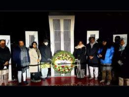 দ. কোরিয়ায় বাংলাদেশ দূতাবাসের ভাষা শহিদদের প্রতি শ্রদ্ধা নিবেদন