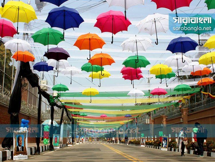 বারিধারার পার্ক রোড এখন 'কিং নরোদম সিহানুক রোড'