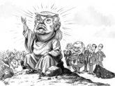 'সর্বক্ষমতাধর' ট্রাম্পের সঙ্গে গভর্নরদের মতবিরোধ