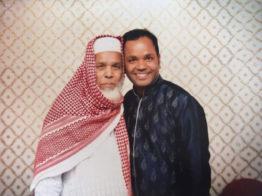 গলফার সিদ্দিকুর রহমান ও তার বাবা