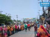 ত্রাণের জন্য বিক্ষোভ, নেপথ্যে 'উসকানি' দেখছে প্রশাসন