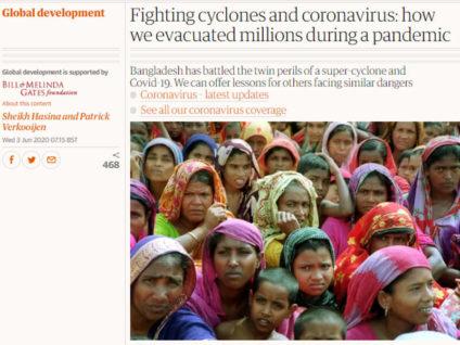 করোনা ও আম্পান: যেভাবে লাখো মানুষকে নিরাপদে রেখেছে বাংলাদেশ