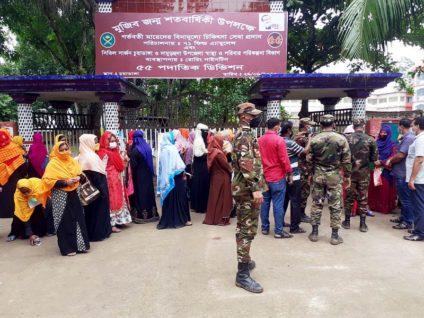 দেশে ৯,৯৯৯ জন গর্ভবতী মা'কে সেবা দিয়েছে সেনাবাহিনী