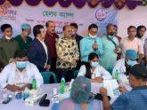 ডিআরইউ'র রজত জয়ন্তীতে ল্যাব এইডের সহযোগিতায় হেলথ ক্যাম্প