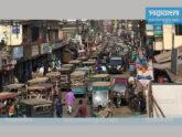 নেত্রকোনা পৌরশহরে যানজটে নাকাল এলাকাবাসী