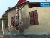 নেত্রকোনায় গৃহহীনদের ঘর নির্মাণে অনিয়মের অভিযোগ