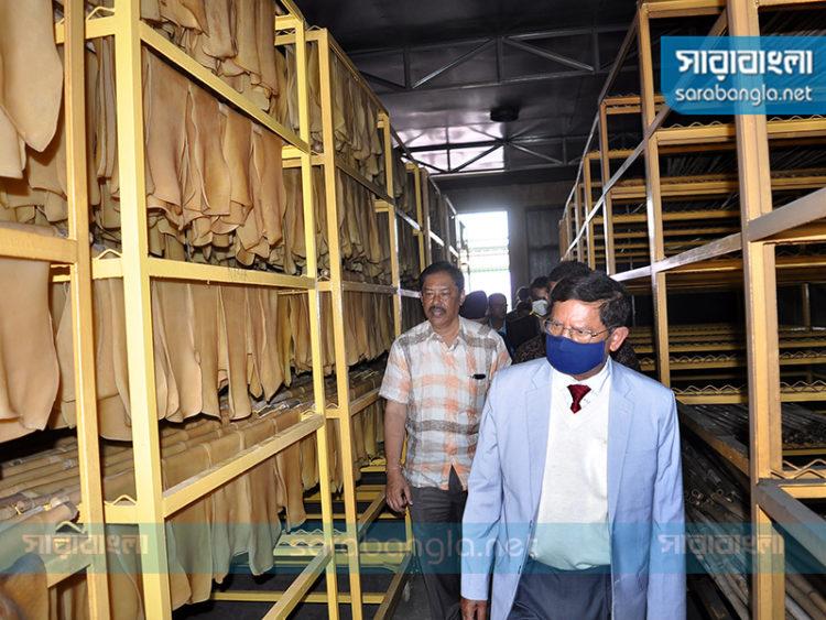 বান্দরবানে গাজী রাবার প্রসেসিং প্লান্টের উদ্বোধন