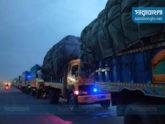 সিরাজগঞ্জের মহাসড়কে 'যানজটে' ভোগান্তি