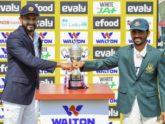 দ্বিতীয় টেস্টে টস জিতে বাংলাদেশকে ফিল্ডিংয়ে পাঠাল শ্রীলংকা