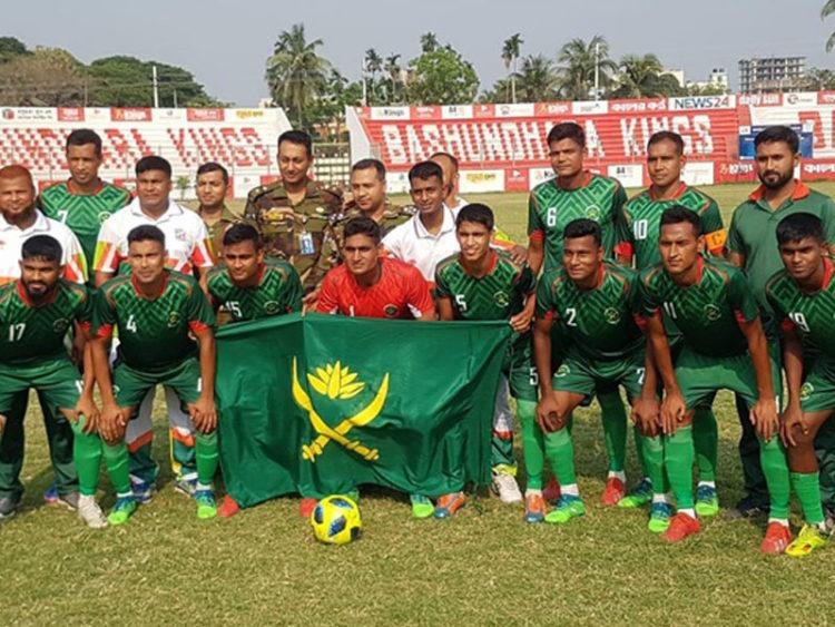 ফুটবলের স্বর্ণ বাংলাদেশ সেনাবাহিনীর