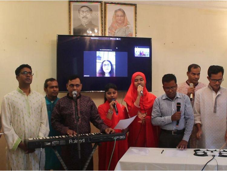 ব্রুনাইতে বাংলা নববর্ষ উদযাপন