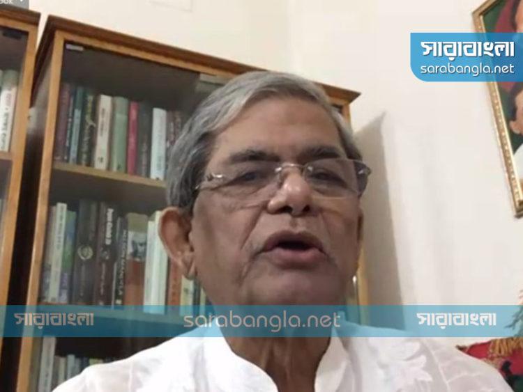 রাজনৈতিক উদ্দেশ্য হাসিলে লকডাউন: ফখরুল