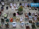 বায়তুল মোকাররমে ঈদের জামাতে করোনামুক্তি কামনায় মোনাজাত