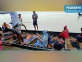 চাঁপাইনবাবগঞ্জে বরযাত্রীবাহী নৌকায় বজ্রপাত, নিহত ১৭